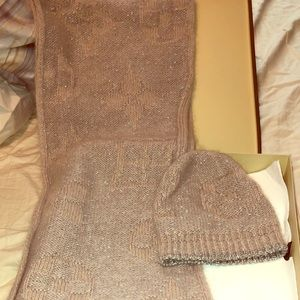 Louis Vuitton Scarf and Hat